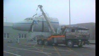 Bristol Britannia G ALRX at Boscombe Down