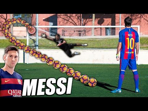 Aprende a Tirar Faltas como Leo Messi - Como Golpear al Balón como Messi (Curva Messi Tutorial)
