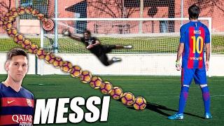 Aprende a Tirar Faltas como Leo Messi - Como Golpear al Balón como Messi (Curva Messi Tutorial) thumbnail
