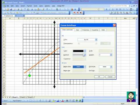 Microsoft Excel 03 Cartesian Coordinate Venn Diagram Youtube