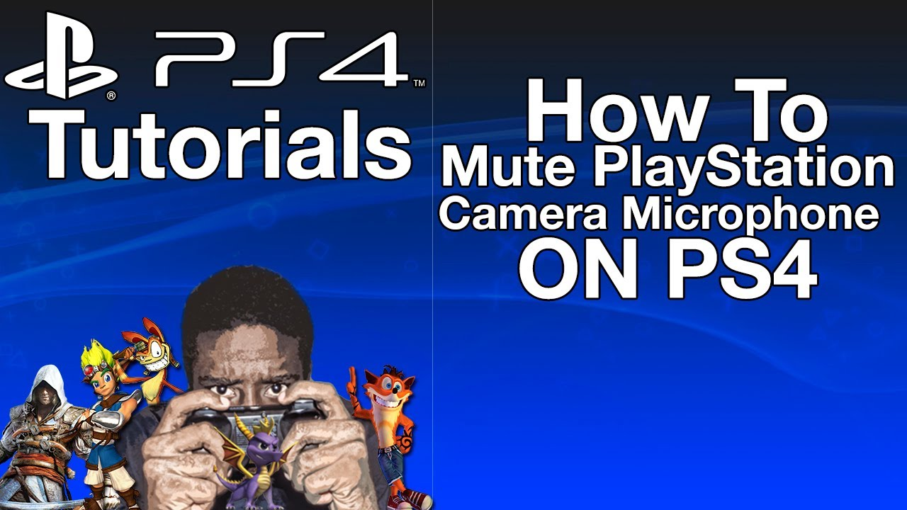 how to use microphone on ps4