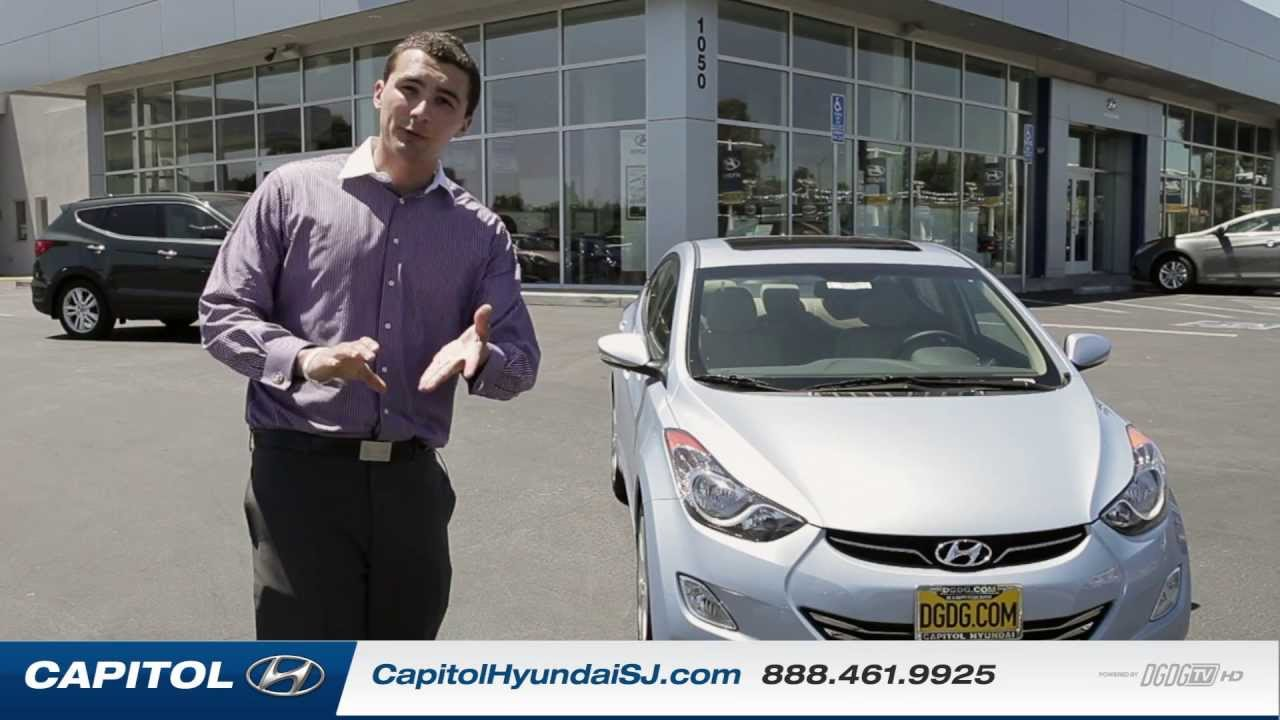 2013 Hyundai Elantra Overview | Review, Specs, Features | Capitol Hyundai