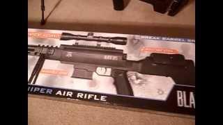 Black Ops new .177 Sniper pellet gun by ignite air gun