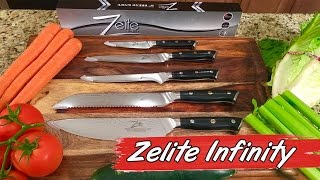 Zelite Infinity Japanese Knives - Product Review