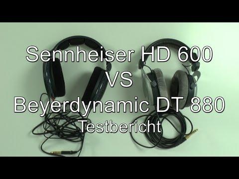 Testbericht: Sennheiser HD 600 VS Beyerdynamic DT 880 (600 Ohm)