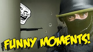 CS GO FUNNY MOMENTS - HOW TO BAIT ENEMIES , VACATION FLICK , TROLLING TEAMMATES (funny moments)