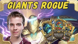 Thijs plays Arcane giants Miracle rogue (The frozen throne)