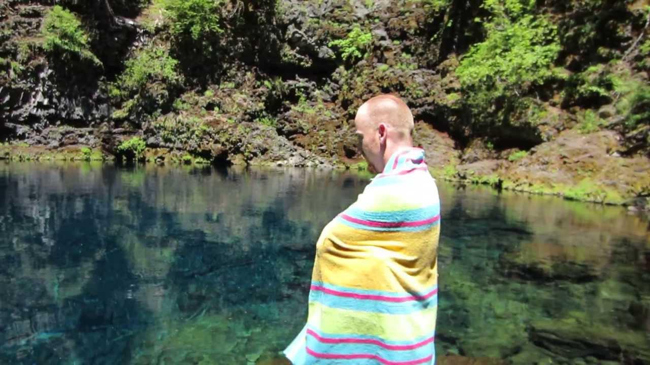 Tamolitch Pool Swim Youtube