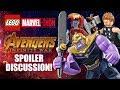Avengers: Infinity War SPOILERS + LEGO Accuracy - LEGO Marvel-thon!