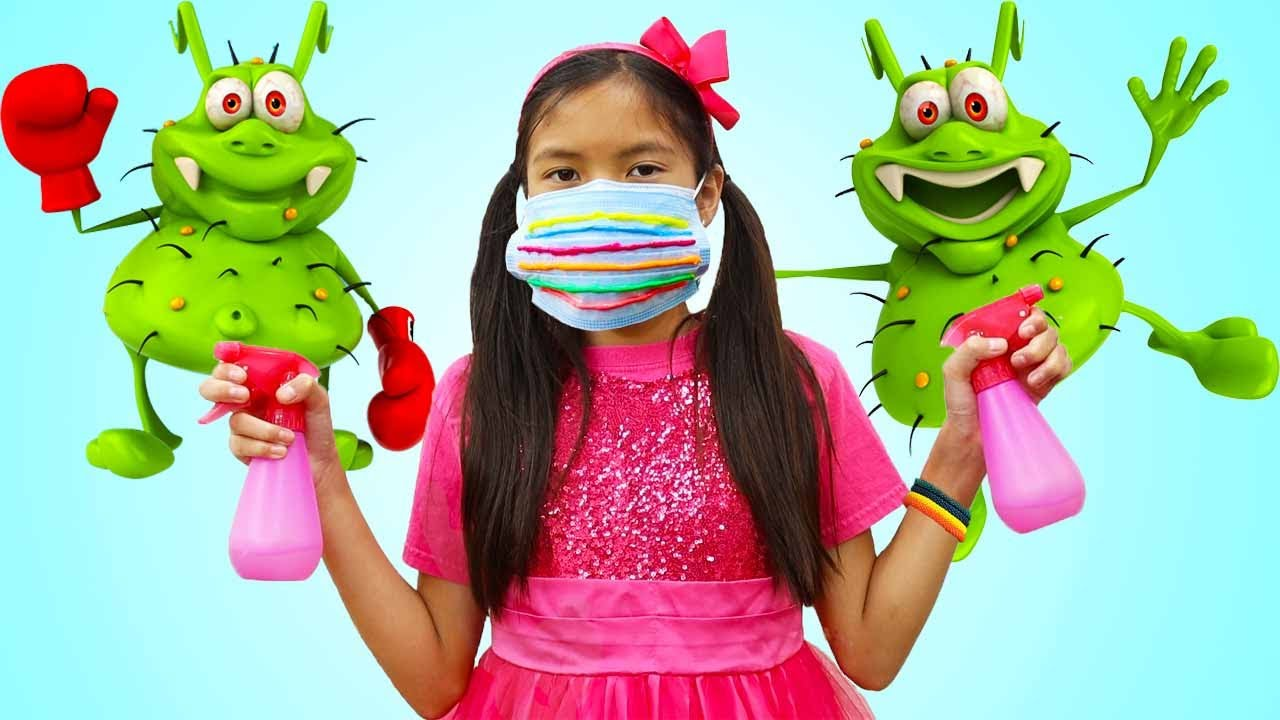 Children Viruses & Germs Song | Wendy Kids Sing-along Kids Songs & Nursery Rhymes