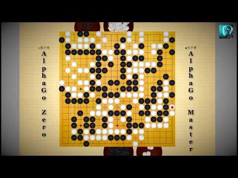 AlphaGo Zero Vs AlphaGo Master Game 1 Of 20