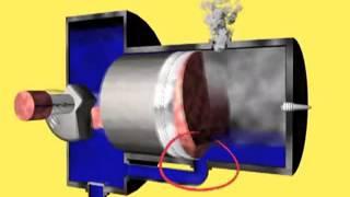 видео Принцип работы 2-х тактного двигателя