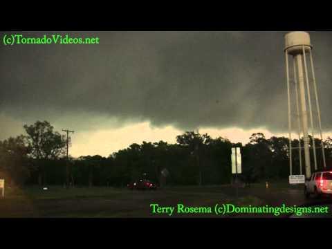 Escaping the Ben Wheeler, Texas Tornado April 26, 2011