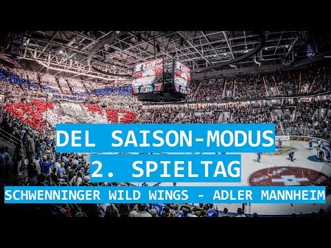 Schwenninger Wild Wings - Adler Mannheim (2/52) | NHL 18 DEL Saison #006