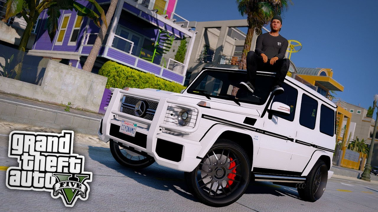 wir kaufen eine amg g klasse gta 5 real life mod youtube. Black Bedroom Furniture Sets. Home Design Ideas