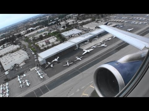 Full Throttle HD A320 Takeoff From a Short Runway in Orange County California!!!