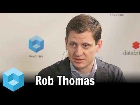 Rob Thomas – Spark Summit East 2016 – #SparkSummit – theCUBE