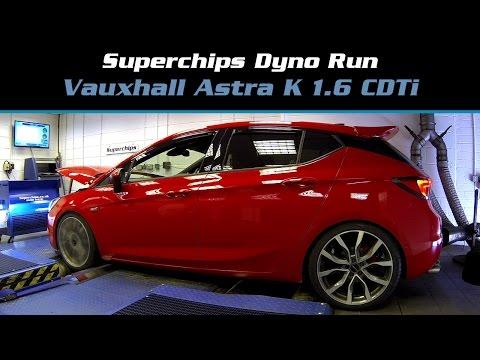 Superchips Dyno Run: Vauxhall Astra K 1.6 CDTi