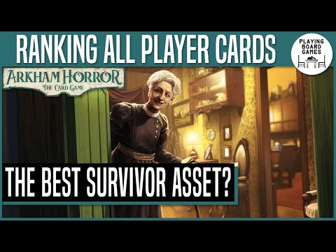 Survivor Assets | RANKING EVERY PLAYER CARD IN ARKHAM HORROR: THE CARD GAME