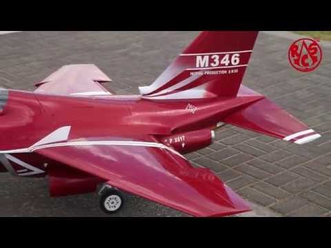 M-346 turbine jet  maiden flight