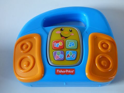 Videos for kids.Mattel Fisher-Price  Learning Fun Radio/ Laugh & Learn Music Player