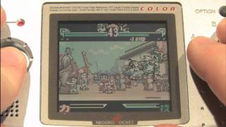 Classic Game Room - THE LAST BLADE Neo Geo Pocket Color review