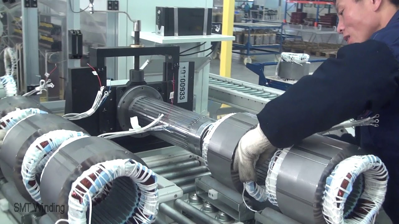 Three Phase Motor Stator Coil Expanding Machine For Industrial Motor ...
