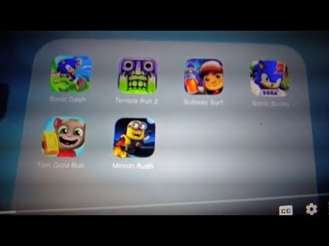 Sonic Dash Vs Temple Run 2 Vs Subway Surfers Vs Sonic Boom Vs Tom Gold Run Vs Minion Rush