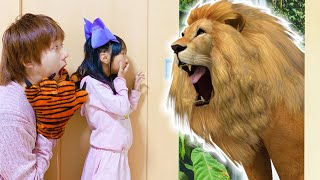 Yume Learns about Animals and Animal Names for Kids | Fun Educational Pretend Play Video