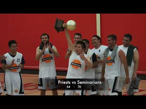 Diocese of Orange: Priests vs. Seminarians Basketball Game