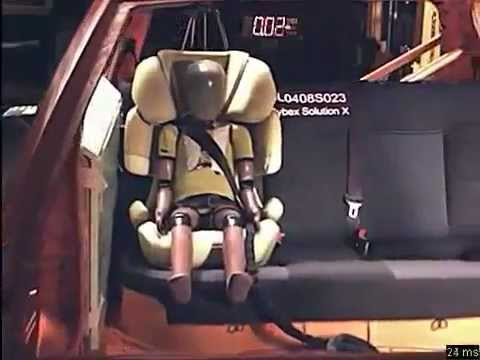 cybex solution x2 fix crash test impacto lateral youtube. Black Bedroom Furniture Sets. Home Design Ideas