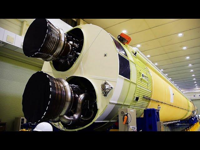 新型ロケットH3を公開「やっと形に」 一回り大きく