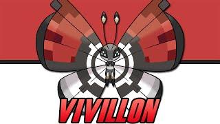 Pokemon X/Y Event - Pokeball Pattern Vivillon [North America]