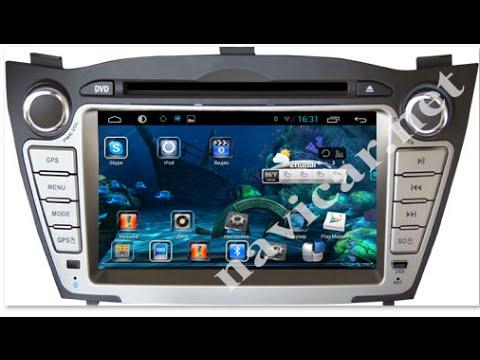 Штатная магнитола NaviCar Android 4.4.2 Hyundai Ix35 2009 2012 Tucson 2009 2012 142106