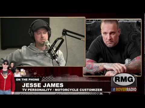 Jesse James Interviewed on Rover's Morning Glory