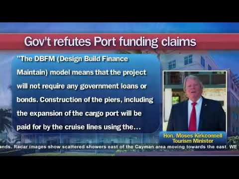 Opposition queries port $$  Kirkconnell defends funding