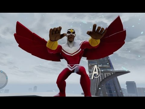 Disney Infinity 2.0 - Marvel Super Heroes - Falcon (Level 20 Character Showcase)