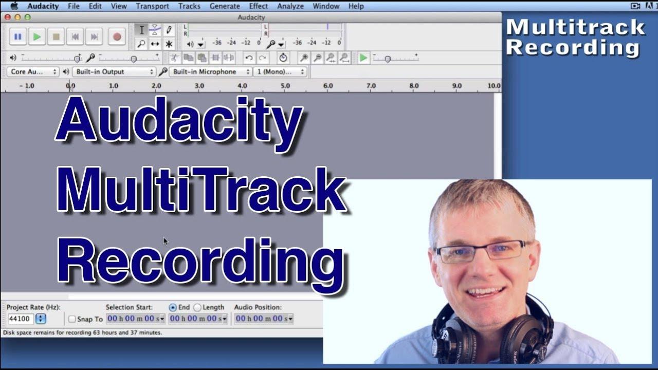 Audacity Tutorial MultiTrack Audacity Music Recording & Edit An Easy  Tutorial Episode 2
