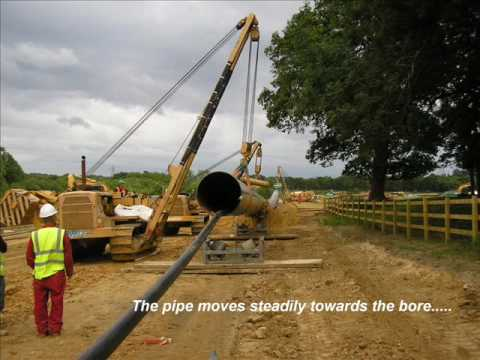 GAS PIPELINE- KENT - DIRECTIONAL DRILLING