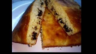 Грибная запеканка Мечта   Заливной пирог с грибами   Простой рецепт