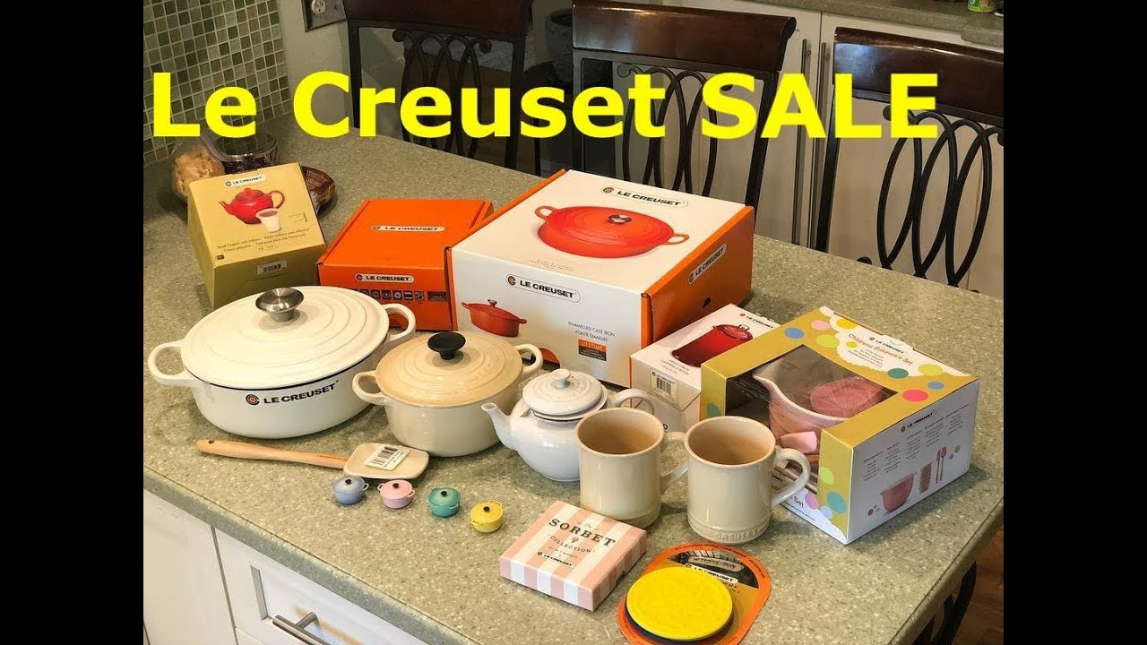 Le Creuset Factory To Table Sales Event Cheers Marie Youtube