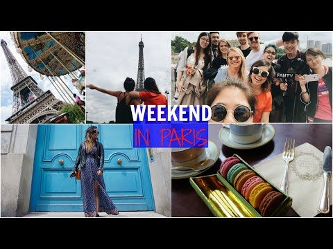 Paris Travel Vlog: Food & Drinks Guide