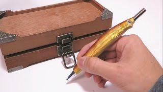 【100均DIY】奇抜なシャーペンとアンティークBOXの作り方 その他 thumbnail