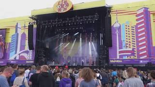 DJANGO DJANGO - Introduction/Hail Bop - Lollapalooza Berlin 2017