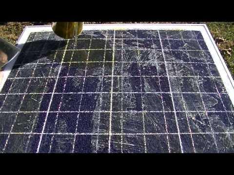 Solar Panel Glass Repair