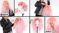 HOW TO CREATE A DRAG WIG WITH CHEAP WIGS!