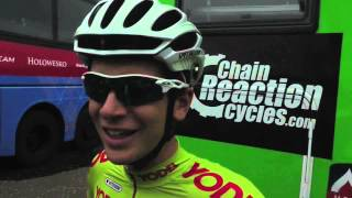Gambar cover Aaron Gate of AN Post CRC at the Tour of Britain 2013 stage 7