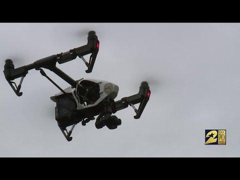 Crime-fighting Drones