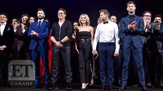 'Avengers: Endgame' Cast On Their Love For Robert Downey Jr. & Chris Evans