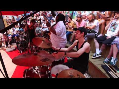 V1 Festival - Funky Drummer Battle